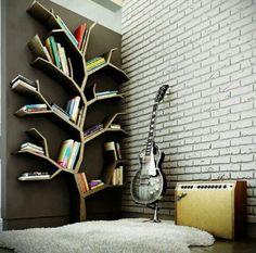 樹,書架 book shelf
