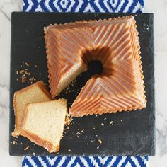 It's a new shape in bundt® cakes - square! And it's beautiful! The style is the same as the pleated Bavarian bundt pan only it is squared. The grooves created by the ridges on the plan makes the perfect place for a sweet glaze to settle. Sounds delicious! Heavy cast aluminum pan is 8-1/2 square on the bottom rising to 6 square at the top of the cake with a 10 cup liquid capacity. Premium nonstick pan cooks uniformly and creates fine details. Nordic Ware®. Made in USA.Kitchen Krafts is…