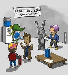 Time travelers convention - 9GAG