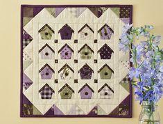 Home Tweet Home Quilt Pattern
