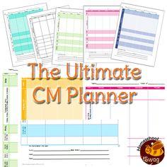 FREE Charlotte Mason planner