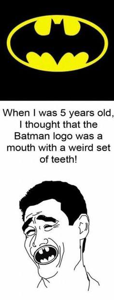 Batman teeth