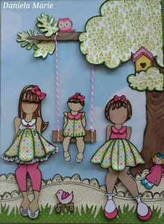 Prima dolls journal page ♥ By Daniela M. Alvarado