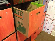 Uhaul Small boxes, Expedit boxes