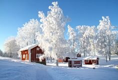 images of smaland sweden Cute Cottage, Red Cottage, Stockholm, I Love Winter, Winter Time, Scandinavian Christmas, Scandinavian Home, Winter Pictures, Cool Pictures