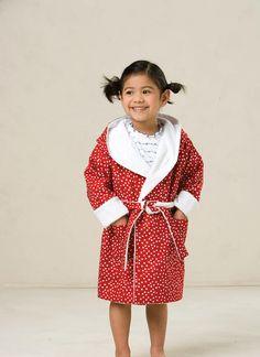 d7ac799f6c318 K3509   Toddlers' Shawl-Collar Robes Sewing Pattern   Kwik Sew Patterns
