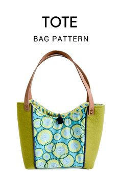 e7a7a6a58a Spring Blooms Tote Bag - Free Pattern