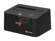 """Thermaltake BlacX N0028USU External Hard Drive SATA Enclosure Docking Station 2.5"""" & 3.5"""" USB 2.0"""