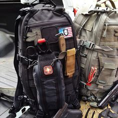 ITS Tallboy Trauma Kit Pouch on a TAD Gear Litespeed pack by patrickmariolo