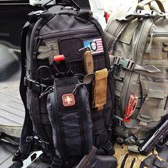 TAD Gear Litespeed w/ ITS Tallboy Trauma Kit