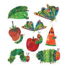 tattly :: the very hungry caterpillar set