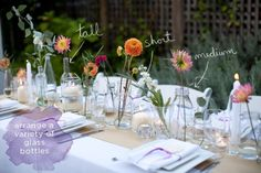 This is EXACTLY what the tables will look like. But with a different runner and no place settings