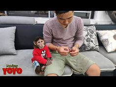 Dad takes care of YoYo JR in new home - YouTube Take Care, Are You Happy, Baby Animals, Jr, Dads, New Homes, Youtube, Entertainment, People