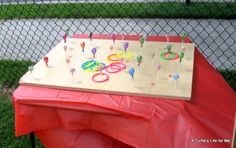 TONS of ideas to host a backyard carnival for little money!