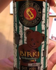 Schoppe Bräu - Birki (Birch Sap) 6,0% hana (29.7.2017 SOPP) GERMAN