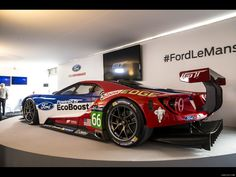The Ford GT first captured the hearts and minds of many drivers around the world in the A mid-engine, two-seater sports car produced by Ford Sports Car Racing, Sport Cars, Auto Racing, Mustang Cobra, Ford Mustang, Us Cars, Race Cars, Le Mans 2016, Supercars