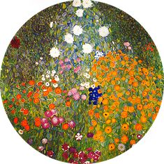 Flower Garden (1905-1907) Gustav Klimt