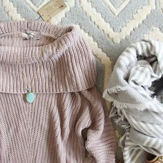 The Nubby Knit Sweater: Alternate View #2