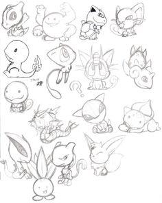 Chibi Pokemon by TakShadoWing.deviantart.com on @deviantART