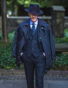"""iqfashion: """"Guillaume Bo for Walker Slater """" Gothic Fashion, Mens Fashion, Daily Fashion, Mens Dress Hats, Outfits With Hats, Best Wear, Business Attire, Gentleman Style, Attractive Men"""