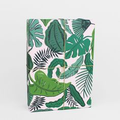 'Tropical Leaves' Wrapping Paper