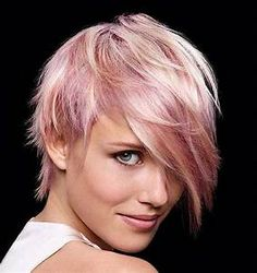 20 Good Pink Pixie Cuts | Short Hairstyles & Haircuts 2017