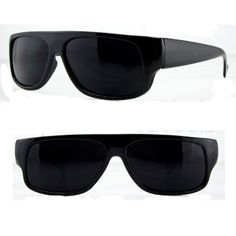 edaf0f07b23 Original OG Mad Dogger Locs Shades Sunglasses w Super Dark Lens Black --  Click on