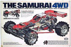 MARUI 1/10 RC SAMURAI VINTAGE RC NIB NEW IN BOX