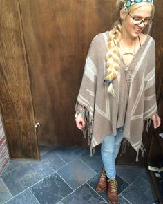 Poncho by Joie Clothing