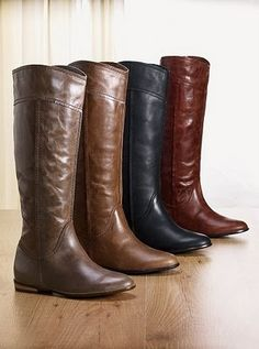 Victorias secret fall fashion clothes | Colin Stuart Riding Boots (Victoria's Secret). I have to get these someday!