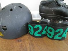 Cheap Skate: DIY Roller Derby Number Armbands
