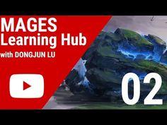Digital Painting Tutorial 02 - Philosopher's Stone - YouTube
