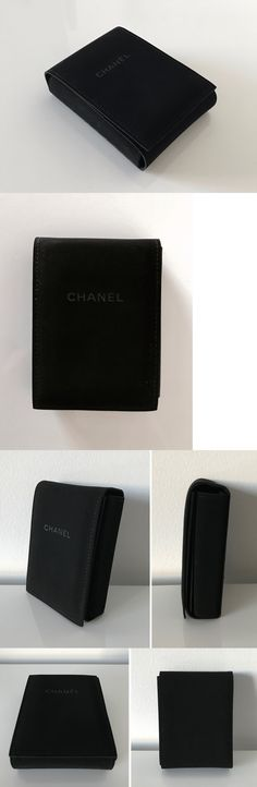 Multi-Purpose 168165: Auth New Chanel Black Velvet Necklace Jewelry Travel Case Pouch Storage -> BUY IT NOW ONLY: $99 on eBay!