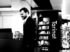 Kirjabloki : Pilou Talk at Suomalainen kirjakauppa, Hellsinki 20.3. Arto Halonen, Pilou Asbaek & Kevin Frazier Helsinki, Literature, Fictional Characters, Literatura, Fantasy Characters