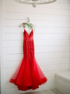 red dress from styled engagement party in Ponder, Texas Wedding Blog, Destination Wedding, Wedding Photos, Alternative Wedding Dresses, Just The Way, Groom, Texas, Engagement, Bride