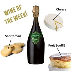 Our Wine of the Week! Click pin for more food pairing recommendations!