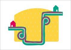 The Path print Ilustración / El Camino by albaricokeazul on Etsy, €10.00 Approximately $13.37 USD
