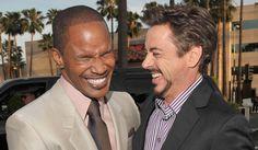 Robert Downey Junior et Jamie Foxx