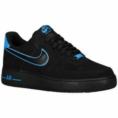 half off b0b26 ed551 ... Nike Air Force 1 - Low - Mens 89.99 Selected Style BlackPhoto Blue ...