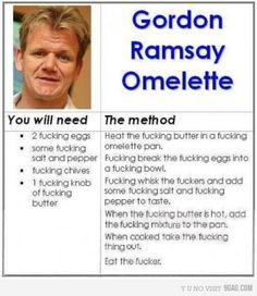 Omelette - By Gordon Ramsay
