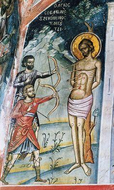 St. Sebastian the Martyr of Rome.