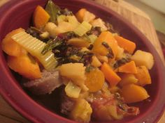 Week 9: Wild Boar Sausage Cassoulet and Lots of Vegetables by Culinary Adventures with Camilla