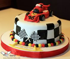 Car Race Cake :)