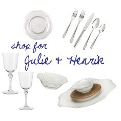 Julie Anderson & Henrik Norlander - Shop their entire registry @ http://charlestonstreet.com/registry.asp?action=view&id=2115