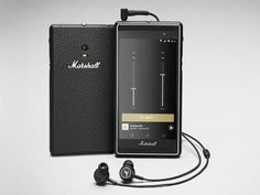 """A first look at Marshall's HI-FI smartphone called """"London"""". Usually, I do not report on Smartphone releases, but if Marshall Amplification, one of the Technology Gadgets, Tech Gadgets, Cool Gadgets, Best Smartphone, Android Smartphone, Smartphone Hacks, Android Art, Internet Of Things, Bass"""