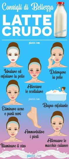 Beauty Tips: Raw Milk- Consigli Di Bellezza: Latte Crudo Raw Milk: Uses And Benefits For The Beauty Of The Skin - Beauty Care, Beauty Skin, Health And Beauty, Beauty Makeup, Beauty Secrets, Beauty Hacks, Raw Milk, Healthy Skin Care, Natural Remedies