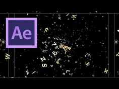 After Effects: Letter Explosion Part 1 - YouTube