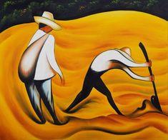 Diego Rivera: Peasants - 1931