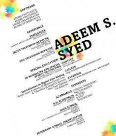 Awesome Resume Designs That Will Bag The Job  Cv