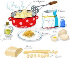 Gnocchi *** Illustrated recipe